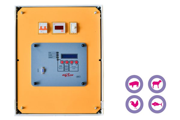 Aturdidor eléctrico 240V TSQ003 con registro