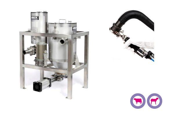 Sistema de extracción de recortes Vac U Trim System